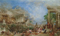 the sack of corinth by thomas allom