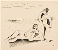 na pláži by alois wachsman