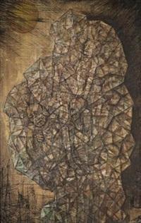 fossilized creatures by abdel hadi el-gazzar