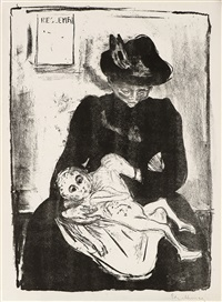 inheritance by edvard munch