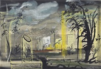 set design for the shadow by john piper