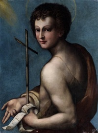 saint jean-baptiste by pontormo (jacopo carucci)
