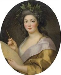 la poésie (+ la musique, 1783?; pair) by marie-victoire lemoine