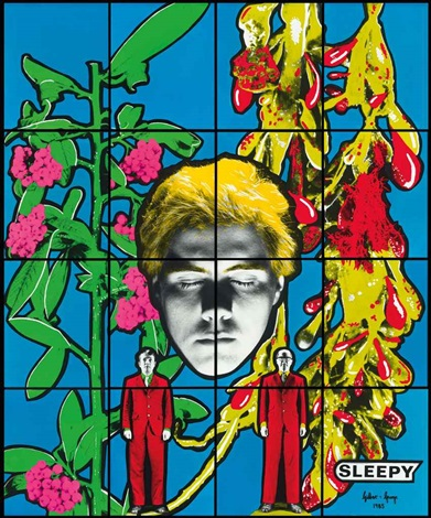 sleepy in 16 parts by gilbert and george