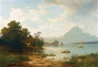 am vierwaldstättersee by carl jungheim