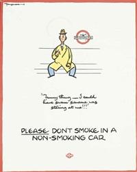 don't smoke by fougasse (cyril kenneth bird)