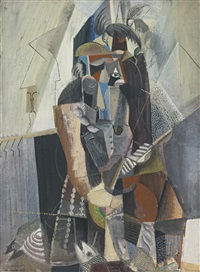 the fisherman (fisherman, fish and sea gulls) by max weber