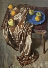 brocade and fruit by patrick hennessy