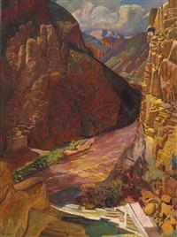 arizona dam by ernest leonard blumenschein