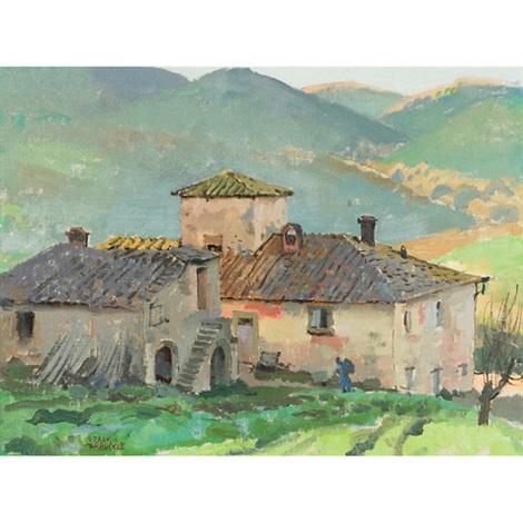 road to castello di uzzano by george franklin arbuckle