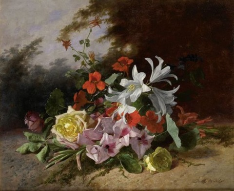 jeté de fleurs by david emile joseph de noter