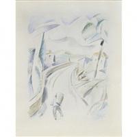 paysage des bermudes by albert gleizes