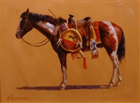 oglala war horse by mike desatnick