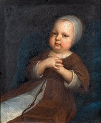 portrait de jeune enfant en habit de franciscain by french school (17)