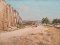 le retour du troupeau by théophile-henry decanis