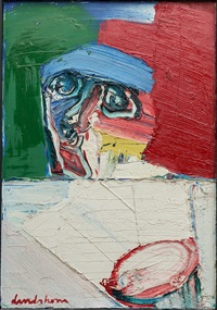 composition with figure by bengt lindström