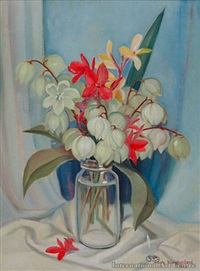 yucca lillies by adele younghusband