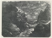 le ruisseau des gorges by rodolphe bresdin