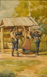 the coy maiden by nikolai dmitrievich dmitriev-orenburgsky
