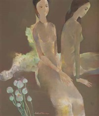 two women by ho huu thu