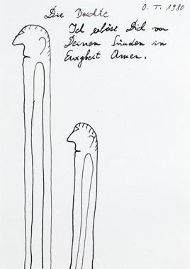 deux hommes by oswald tschirtner