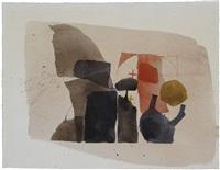 ohne titel (20. dezember 1962) by julius bissier