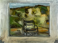 studio landscape and chair by ross ritchie