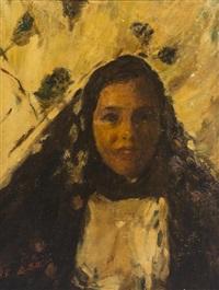 sicilian woman by romualdo locatelli