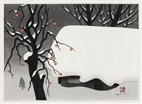 winter in aizu (50) by kiyoshi saito