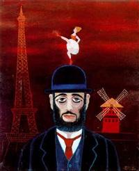 hommage à toulouse lautrec avec la goulue by dimitri yordanov