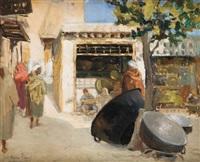 souk des cuivres à marrakech by thérèse clément