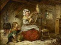 oiling the spinning wheel by alexander leggatt