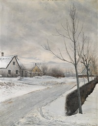 winter day by laurits andersen ring