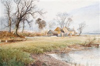 springtime near fletching, sussex by arthur willett