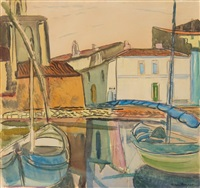 venetian lagoon by frances mary hodgkins