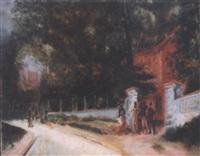 la villa rouge by anatoli afanas'evich arapov