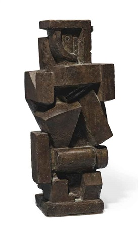 composition cubiste homme by alberto giacometti