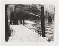 landungsbrücke by emil nolde