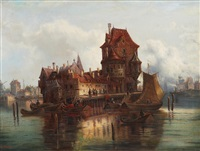 holland's port by ludwig van hoom