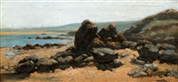 les rochers by auguste louis lepère