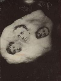 séance de spiritisme, trois apparitions, angleterre by john myers