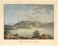 rapperschweil au lac de zurich by heinrich füssli the younger