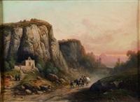 paysage animé by nicolas-victor fonville