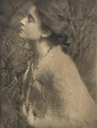 lilas buds: mrs. s by edward steichen