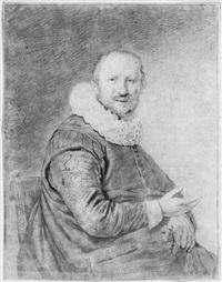 portrait d'homme by cornelis de visscher