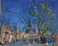 mavi karabaş sokağı by bedri rahmi eyuboglu