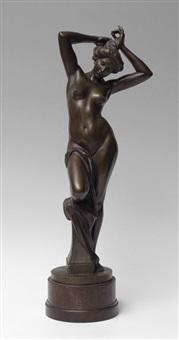 figural woman by emil kiemlen