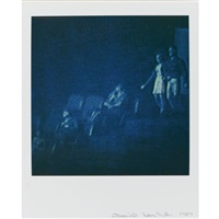 untitled (study, 5 works; from modern romance) by david levinthal