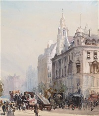 southampton row, london by francis h. dodd