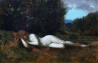 nymphe endormie by jean jacques henner